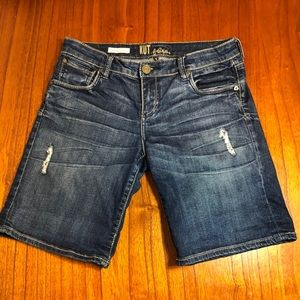 Kut from the Kloth Catherine boyfriend jean shorts